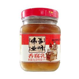 340g香腐乳 Sweet fermented bean curd